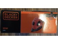 Black and Decker Mouse Sander new in box