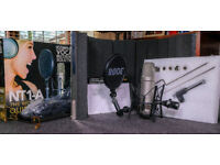 Rode NT1-A Microphone Bundle also included is the Editors Keys Sound Booth
