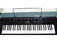CASIO CTK-1150 ELECTRIC KEYBOARD, GREAT FOR BEGINNERS!!