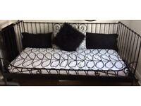 Metal Day Bed Black Ikea