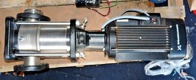 Grundfos Crn15-03 Vertical Multistage Centrifugal Pump With Ml112ca Motor