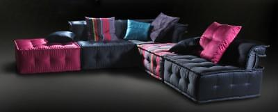Ultra Chic Fabric Sectional Multicolored Sofa SPECIAL ORDER Soflex Las Vegas