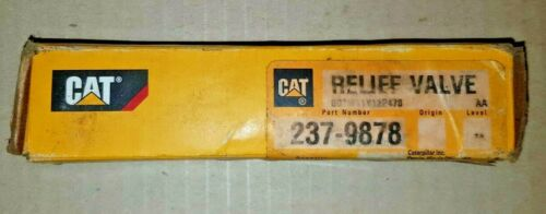 New,Genuine Caterpillar Relief Valve P/N 237-9878 For