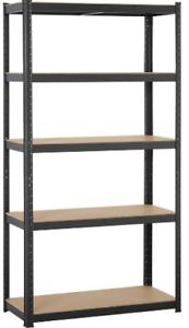 Heavy Duty Steel Frame 5-Tier Garage Shelf