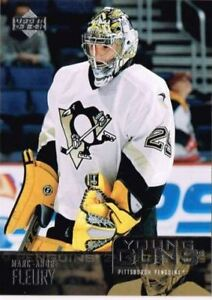 Marc - Andre Fleury Rookie Card