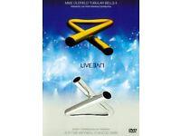 MIKE OLDFIELD TUBULAR BELLS II & III LIVE PROGRESSIVE DVD REGION 2
