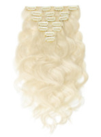 Remy Clip-In Hair Extensions Brand New