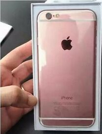BRAND NEW IPHONE 6S ROSE GOLD FOR SWAP WITH IPHONE 6S PLUS OR 7 PLUS