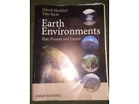 Earth Environments Huddart & Stott