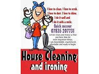 If you looking for a conscientious, trustworthy and precise domestic cleaner, choose us.
