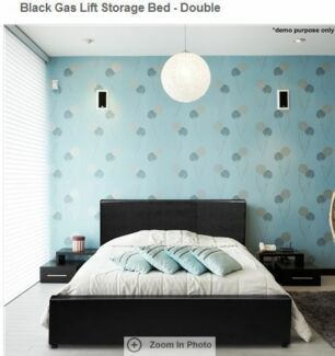 clearance:75% off Leather bed/mattress $160/99