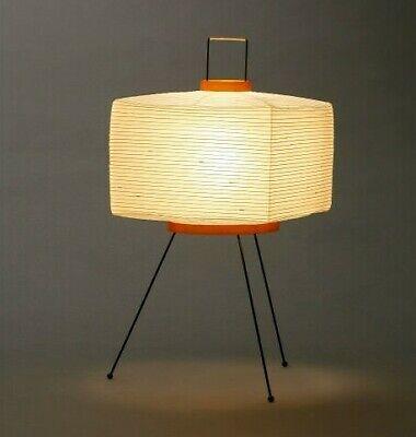 Isamu Noguchi Akari Lantern 7A Stand lamp Washi Japanese Light Handcraft F/S