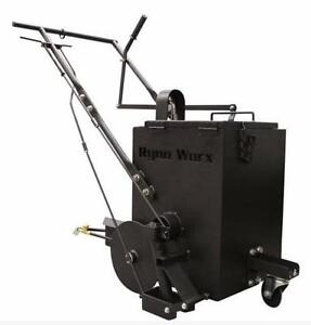 NEW RY 10 ASPHALT CRACK FILLER MELTER APPLICATOR RYNO WORX Apply hot rubberized crack filler walking speed Repair