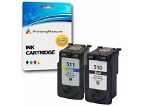 Remanufactured Canon PG-510 CL-511 Ink Cartridges