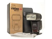 New Yongnuo YN560 IV speedlite
