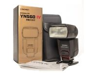 New Yongnuo YN560 IV speedlite