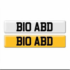 Private registration plate for sale ...... B10 ABD