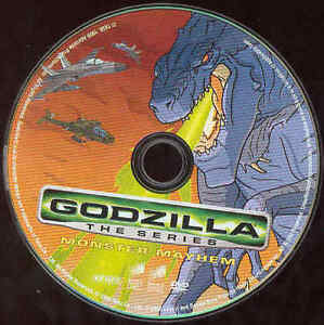 Godzilla The Animated Series Dvd Monster Mayhem Mexico