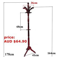 multi hook coat hat stand rack 17 styles  to choose Regents Park Logan Area Preview