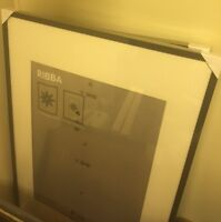 Two Large IKEA Ribba Picture Frame for Sale