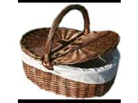 BNWT Large Wicker basket
