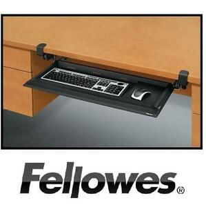 NEW FELLOWES KEYBOARD DRAWER DESIGNER SUITES DESK READY KEYBOARD DRAWER 105099346
