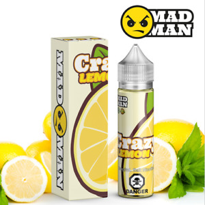 Madman - Crazy Lemon Vape Juice - 60ML