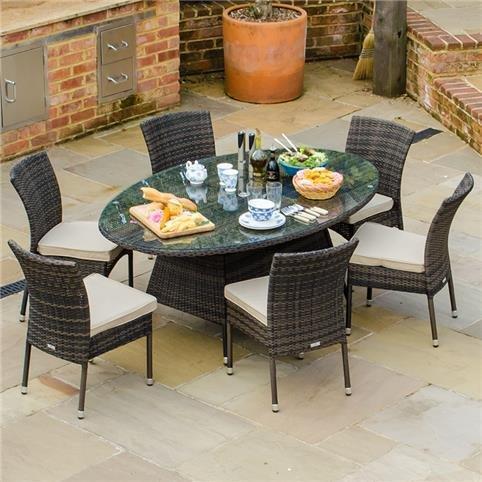 Outdoor Rattan Dining Set In Cambridge Cambridgeshire Gumtree