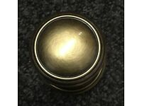Door Knobs in Florentine Bronze finish by Carlisle Brass (DK35FB)
