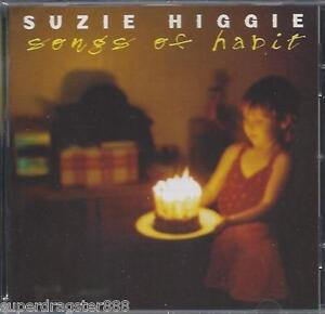 SUZIE HIGGIE (Falling Joys) Songs Of Habit CD (New)