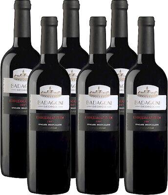 Badagoni Kindzmarauli Rotwein aus Georgien 6 x 0,75L. 11% vol. Вино Киндзмараули