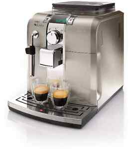 Saeco Stainless Steel Cappuccino Machine
