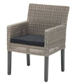 KETTLER Bretagne Outdoor Indoor Dining Garden Chair RRP £190 - BRAND NEW with TAGS