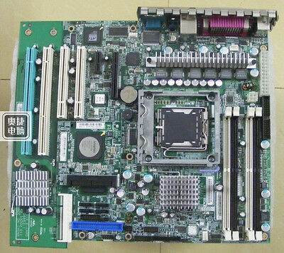 Fru Pc Card Slot - 1PC Used IBM X206M server motherboard with SAS card 64-bit slot FRU:39M4477