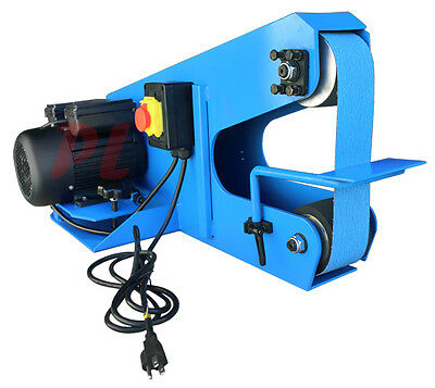 Hd Industrial Portable 3 Belt Sander Grinder 1 Phase 110v 1680rpm .75kw