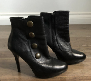 Womens Steve Madden Ankle Boots Stiletto Size 8