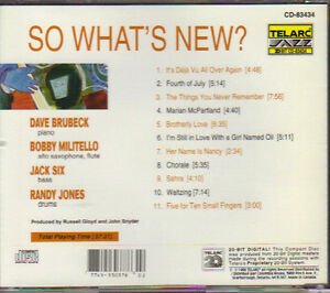 Dave Brubeck - So What's New? West Island Greater Montréal image 2
