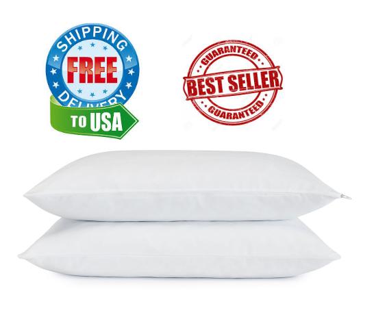 Set 2 Pack - Serta Cooling Gel Memory Foam Pillow,Cluster **