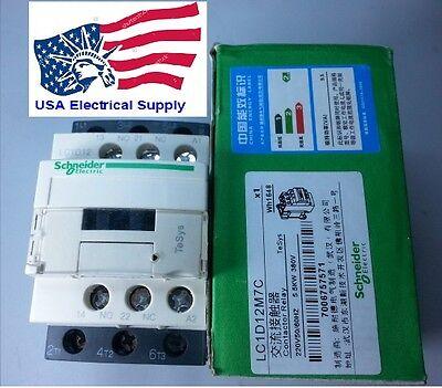 LC1D12M7C Schneider Contactor  Coil 220VAC   50/60Hz
