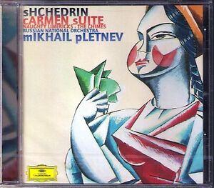 Mikhail-PLETNEV-Rodin-SHCHEDRIN-Carmen-Suite-Naughty-Limericks-The-Crimes-CD-NEU