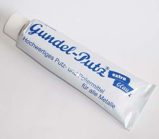 150ml (6,99€/100ml)  Gundelputz® Gundel - Putz extra blau Putz-und Poliermittel