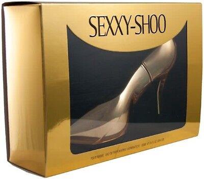 LAURELLE SEXXY SHOO GOLD STILETTO 100ML EAU DE PARFUM  SPRAY BRAND NEW & SEALED