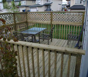 ⫸⫸  Affordable Fence & Deck + Renovations  ⫷⫷