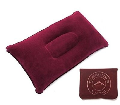 Camping Travel Pillow Comfortable Light Compressible Backpacking Planes Car Rest ()