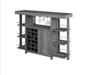 MODERN BAR UNIT AND BAR STOOLS ON SALE  FROM $55