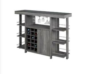 MODERN BAR AND BAR STOOLS ON SALE