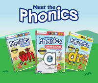 Help your child learn to read with this Phonics DVD set