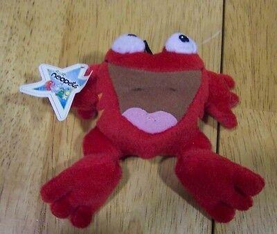 "Neopets RED QUIGGLE 4"" Plush Stuffed Animal NEW"