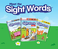 Help your child learn their sight words 3 DVD set