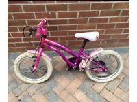 "16"" frame and wheel size - Pink Young Girls Road Bike - £45 ONO"